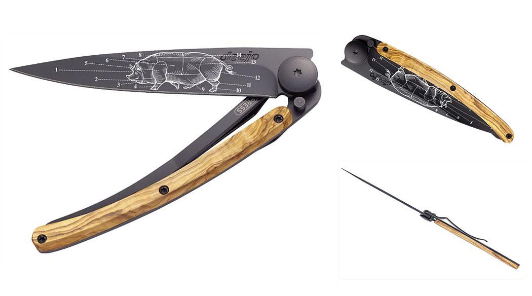 DEEJO Couteau pliant Couteaux Coutellerie  |