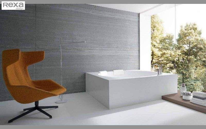 Rexa Design Baignoire à poser Baignoires Bain Sanitaires Salle de bains |