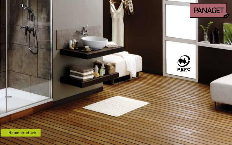 Panaget Parquet pont de bateau Parquets Sols Salle de bains | Design Contemporain