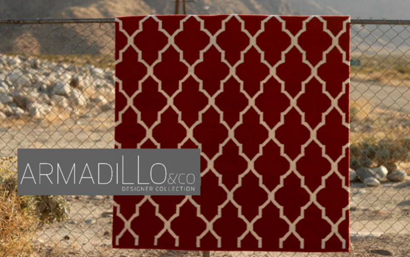 Armadillo and Tapis contemporain Tapis modernes Tapis Tapisserie Bureau | Design Contemporain