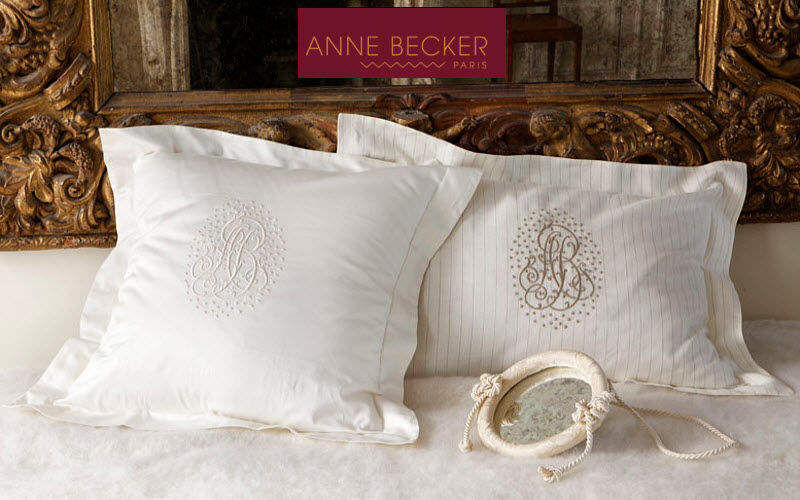 Anne Becker Taie d'oreiller Coussins Oreillers Linge de Maison Chambre | Classique