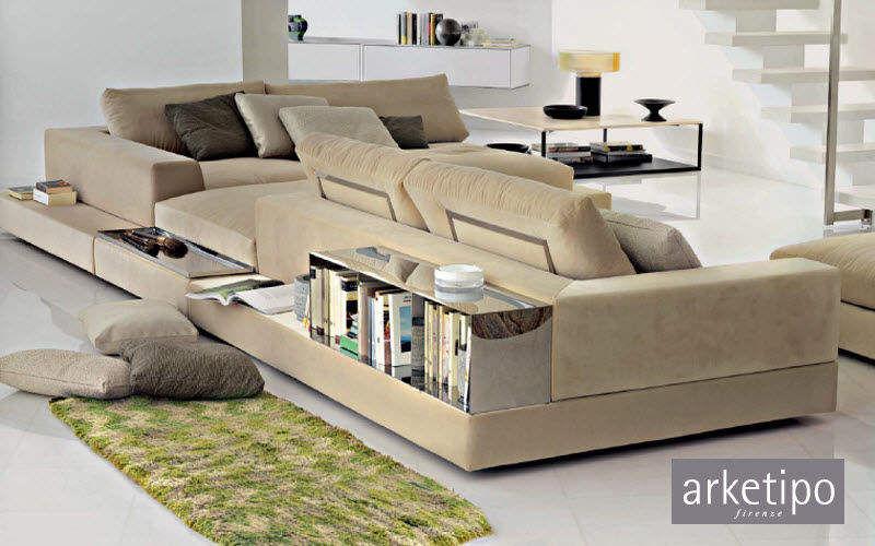 Arketipo Canapé modulable Canapés Sièges & Canapés Salon-Bar | Design Contemporain