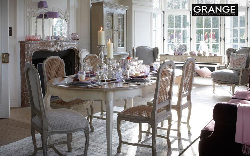 Grange Table de repas rectangulaire Tables de repas Tables & divers Salle à manger | Charme