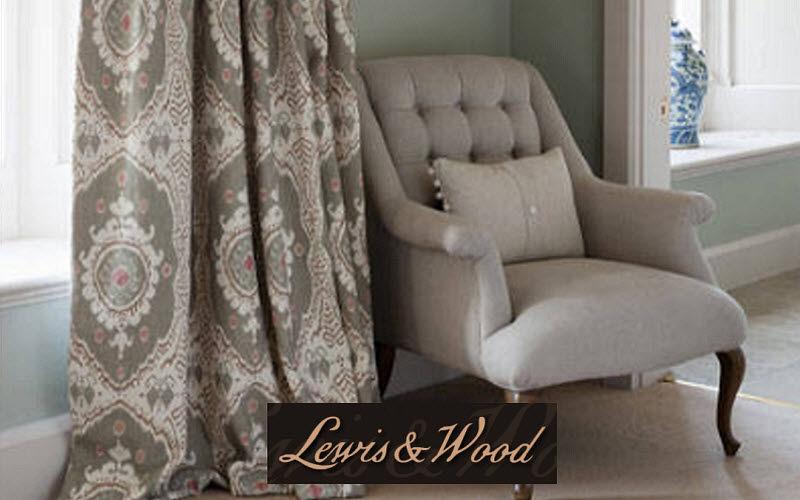 Lewis & Wood Tissu d'ameublement Tissus d'ameublement Tissus Rideaux Passementerie  |