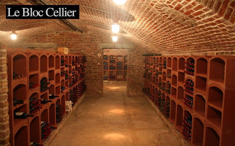 Le Bloc Cellier Casier à vin Cave Equipement Cave-Garage | Design Contemporain