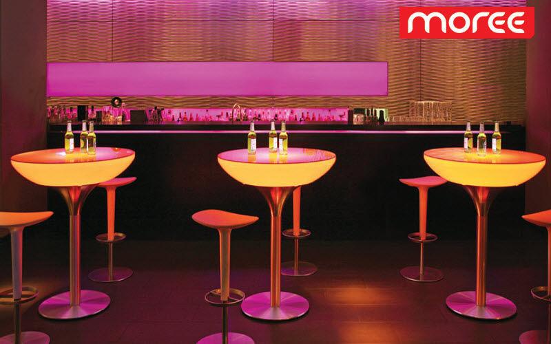 Moree Mange-debout lumineux Tables de jardin Jardin Mobilier  |