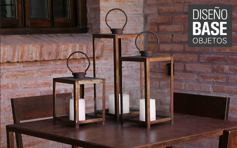 Diseño Base -  Objetos Lanterne d'extérieur Lanternes d'extérieur Luminaires Extérieur Terrasse | Charme