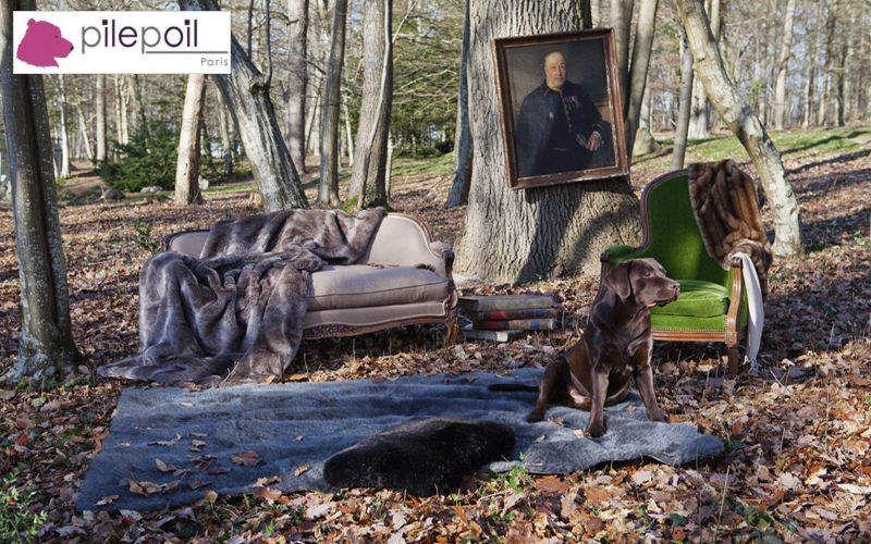 Pilepoil : Fausse Fourrure Fourrure d'imitation Tissus d'ameublement Tissus Rideaux Passementerie Salon-Bar | Classique