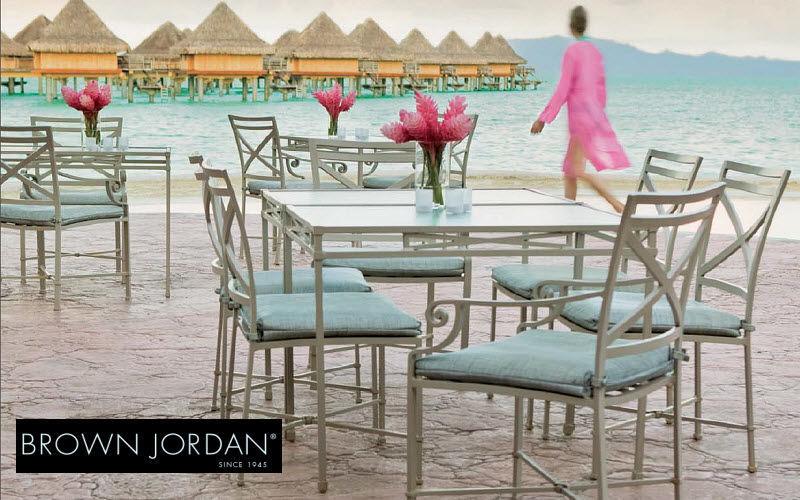 Brown Jordan Salon de jardin Salons complets Jardin Mobilier Terrasse | Classique