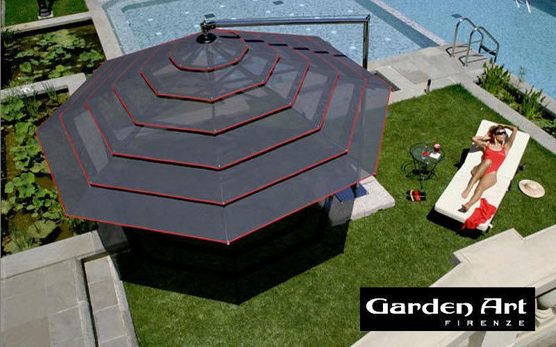 GARDENART Parasol excentré Parasols Tonnelles Jardin Mobilier  |
