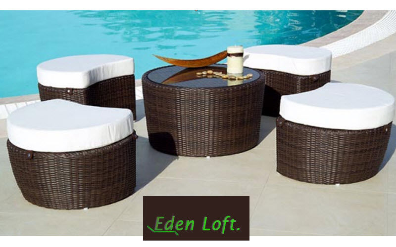 EDEN LOFT Salon de jardin Salons complets Jardin Mobilier   
