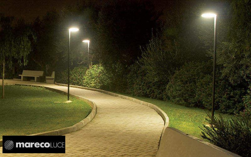 Mareco Luce Réverbère Réverbères lampadaires Luminaires Extérieur Espace urbain   Design Contemporain