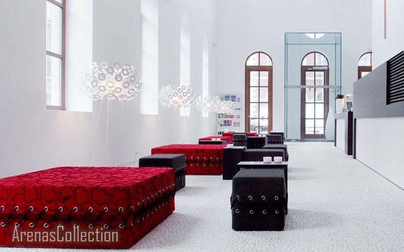 Arenas Collection Table basse carrée Tables basses Tables & divers Entrée  