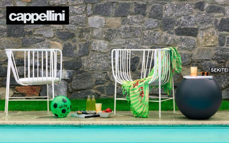 CAPPELLINI Fauteuil de jardin Fauteuils d'extérieur Jardin Mobilier Jardin-Piscine | Design Contemporain