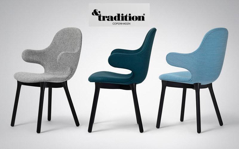 &Tradition Fauteuil de bureau Sièges de bureau Bureau Bureau | Design Contemporain