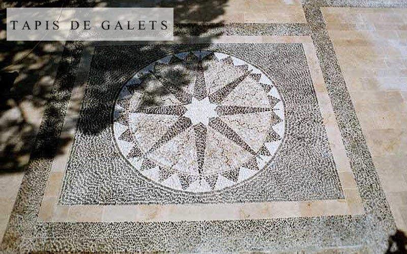 les tapis de galets Sol de galets Revêtements de sol Sols  |