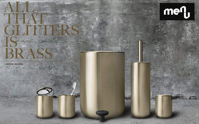 MENU Poubelle de salle de bains Accessoires de salle de bains Bain Sanitaires Salle de bains | Design Contemporain
