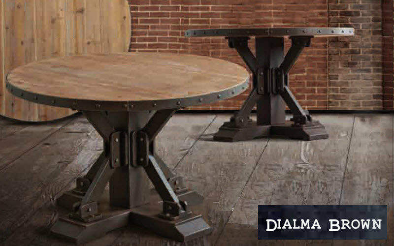 DIALMA BROWN Table de repas ronde Tables de repas Tables & divers  |