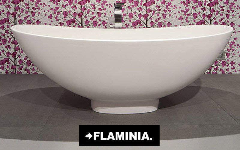Flaminia Baignoire Ilot Baignoires Bain Sanitaires  |