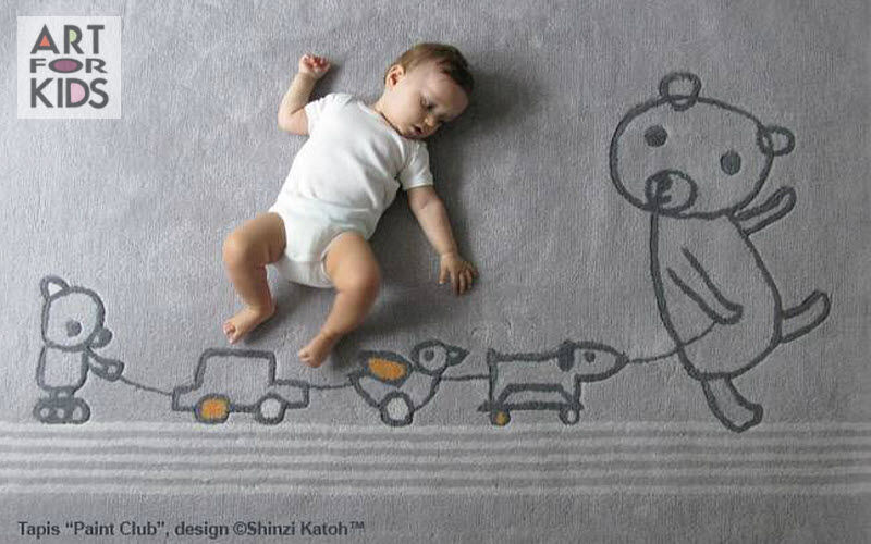 ART FOR KIDS Tapis enfant Décoration enfant Enfant  |