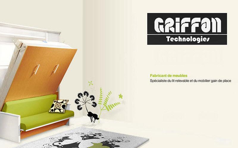 Griffon Meubles Lit escamotable Lits escamotables Lit  |
