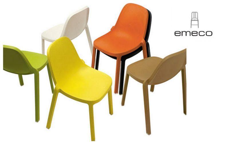 EMECO Chaise empilable Chaises Sièges & Canapés  |