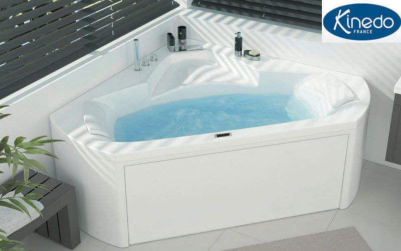 Kinedo Baignoire balnéo d'angle Baignoires Bain Sanitaires  |