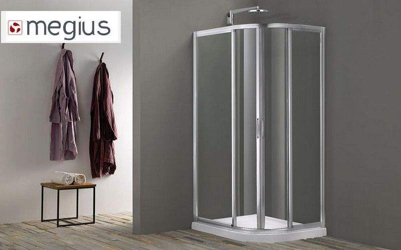 MEGIUS Cabine de douche d'angle Douche et accessoires Bain Sanitaires  |