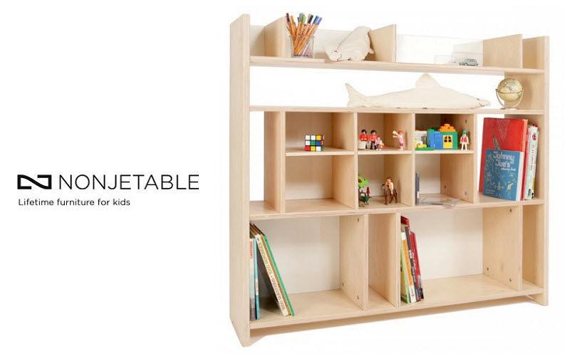 Nonjetable Bibliothèque Enfant Rangement Enfant Enfant  |