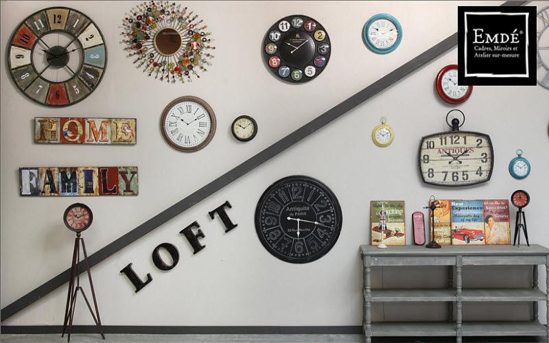 Emde Horloge murale Horloges Pendules Réveils Objets décoratifs  |