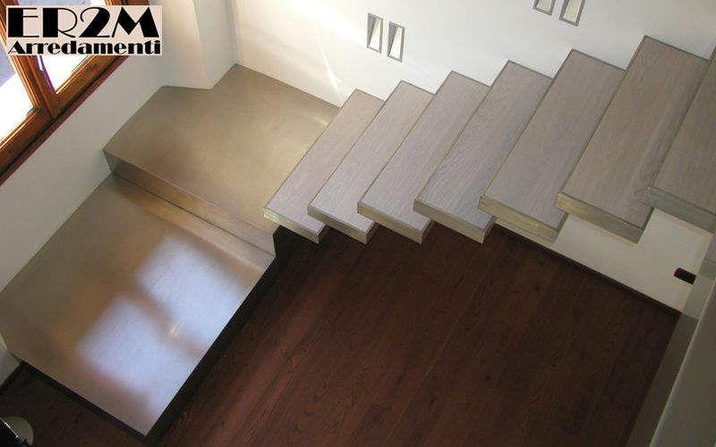 Er2m Escalier un quart tournant Escaliers Echelles Equipement Entrée | Design Contemporain