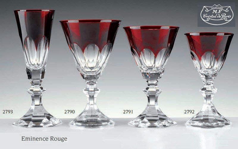 Cristal De Paris Service de verres Services de verres Verrerie  |