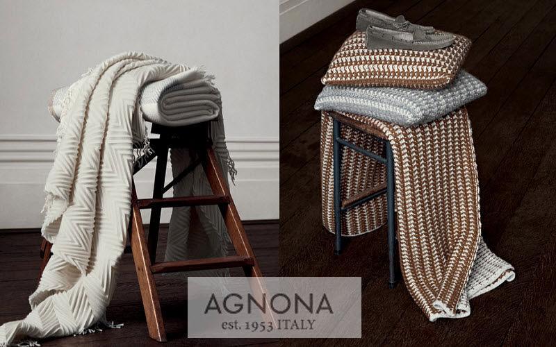 Agnona Plaid Couvre-lits Linge de Maison  |