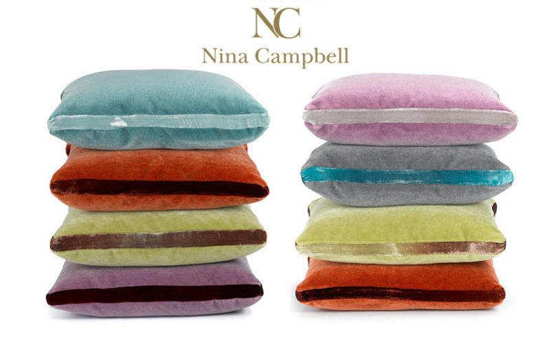 Nina Campbell Coussin carré Coussins Oreillers Linge de Maison  |
