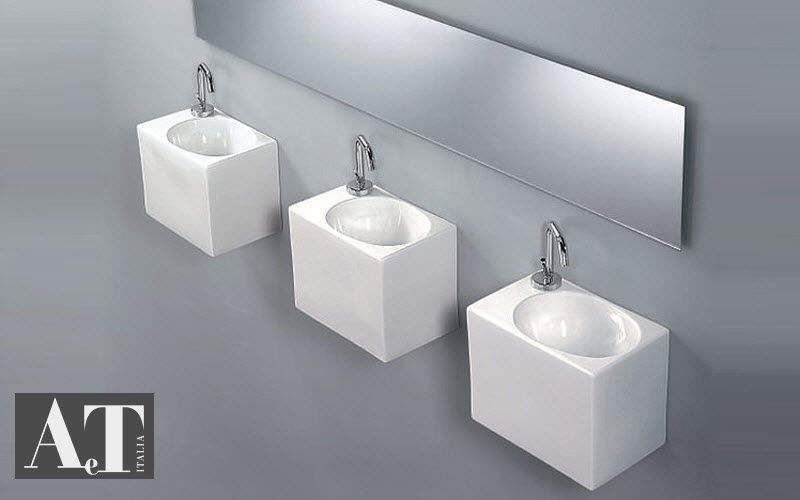 Lave mains vasques et lavabos decofinder - Lave linge de petite taille ...