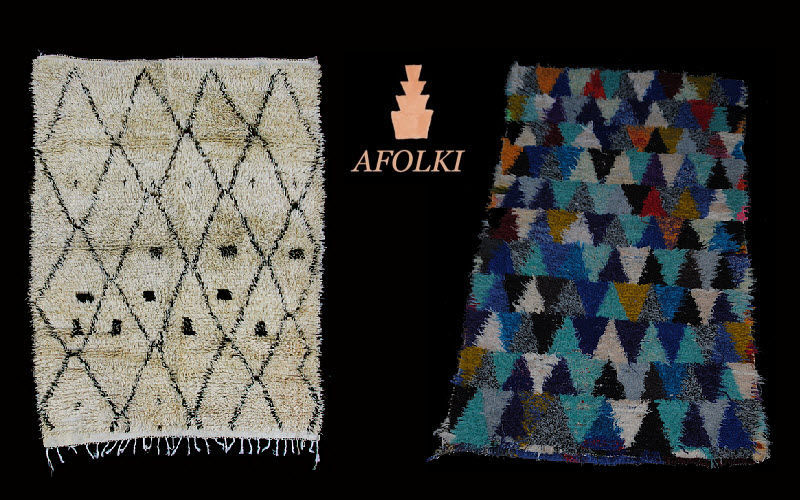 AFOLKI-BERBER RUGS Tapis berbère Tapis de style Tapis Tapisserie  |