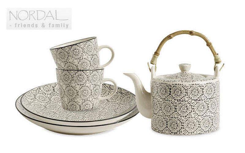 Nordal Service à thé Services de table Vaisselle  |