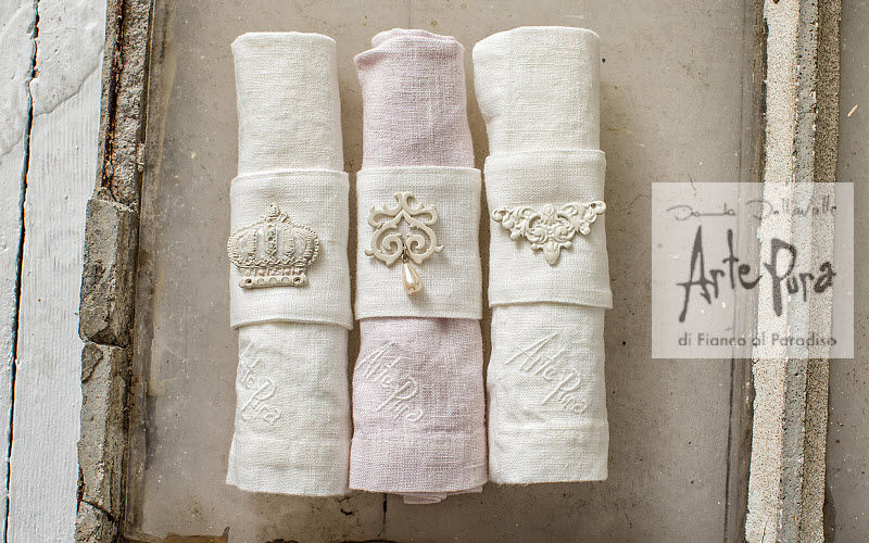 ARTE PURA Serviette de table Serviettes Linge de Table  |