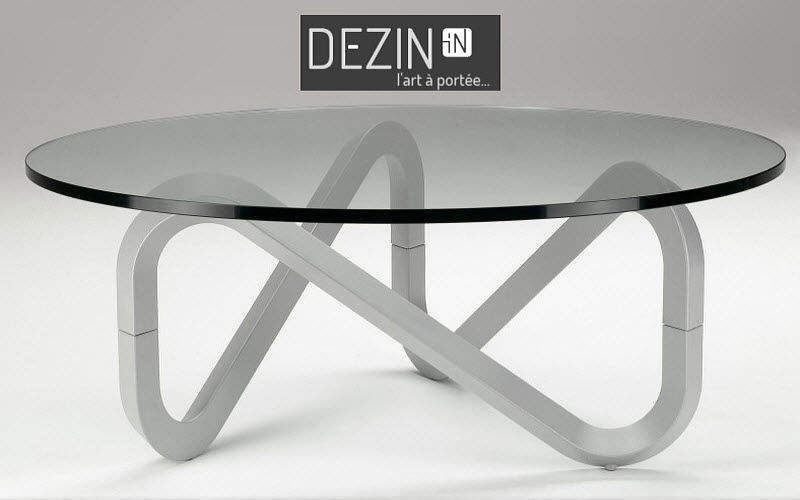 DEZIN-IN Table basse ronde Tables basses Tables & divers  |