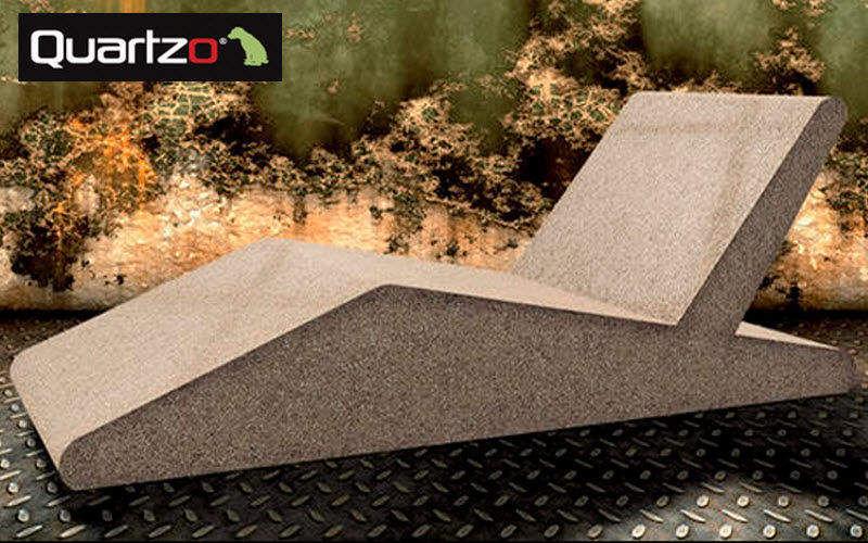 QUARTZO Design Chaise longue urbaine Mobilier urbain Extérieur Divers  |