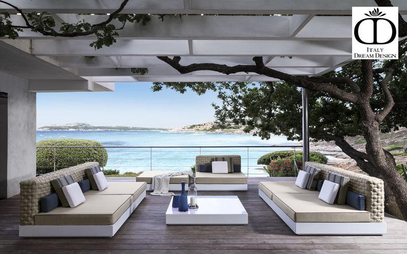 ITALY DREAM DESIGN Canapé de jardin Salons complets Jardin Mobilier Jardin-Piscine |