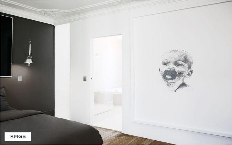 RMGB Réalisation d'architecte d'intérieur Réalisations d'architecte d'intérieur Maisons individuelles Chambre | Design Contemporain