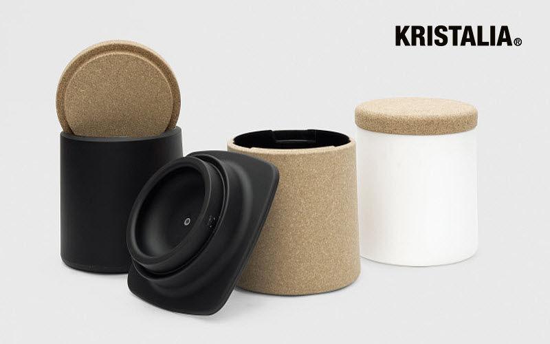 Kristalia Pouf coffre Tabourets et poufs Sièges & Canapés  |