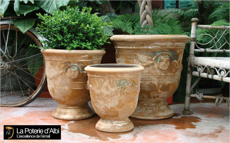 Les Poteries D'albi Vase Medicis Pots de jardin Jardin Bacs Pots  |