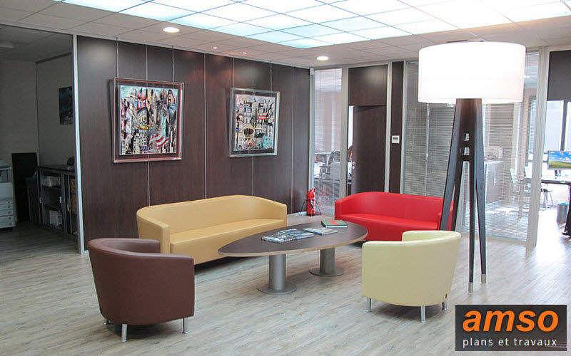 Amso Cloison de bureau Cloisons & Panneaux acoustiques Murs & Plafonds  |