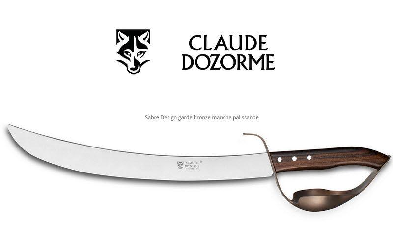 Claude Dozorme Sabre à champagne Couteaux Coutellerie  |