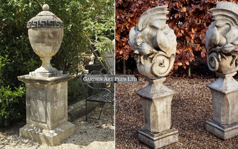 GARDEN ART PLUS Urne de jardin Pots de jardin Jardin Bacs Pots  |
