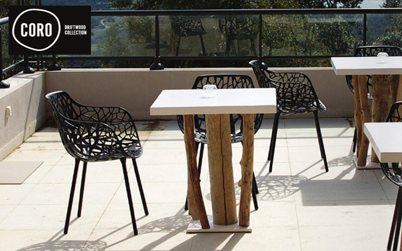 CORO DRIFTWOOD Table bistrot Tables de repas Tables & divers Terrasse | Bord de mer