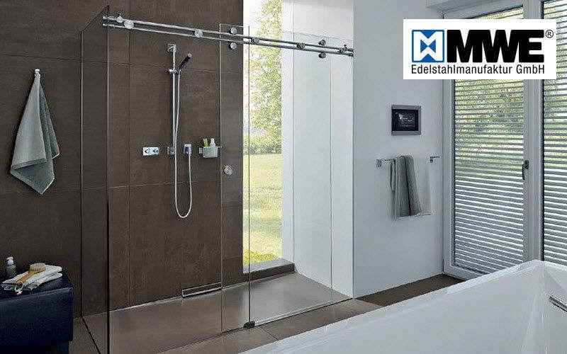MWE Porte de douche coulissante Douche et accessoires Bain Sanitaires  |