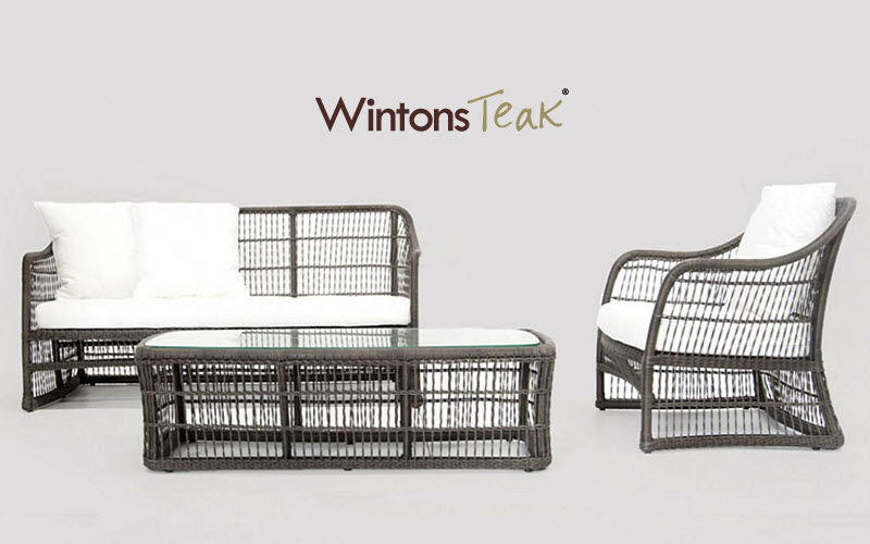 WINTONS TEAK Salon de jardin Salons complets Jardin Mobilier  |